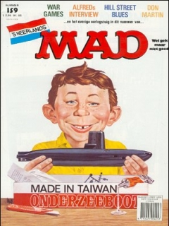 Go to MAD Magazine #159 • Netherlands • 1st Edition