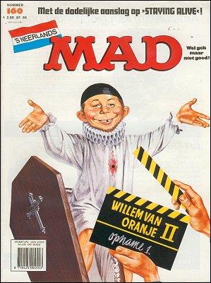 MAD Magazine #160 • Netherlands • 1st Edition