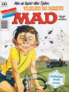 Go to MAD Magazine #161 • Netherlands • 1st Edition