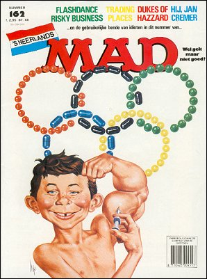 MAD Magazine #162 • Netherlands • 1st Edition