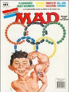 Go to MAD Magazine #162 • Netherlands • 1st Edition