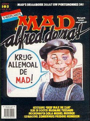 MAD Magazine #163 • Netherlands • 1st Edition