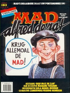Go to MAD Magazine #163 • Netherlands • 1st Edition