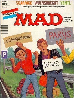 MAD Magazine #164 • Netherlands • 1st Edition