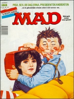 Go to MAD Magazine #166 • Netherlands • 1st Edition