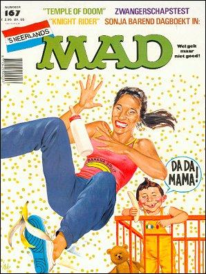 MAD Magazine #167 • Netherlands • 1st Edition