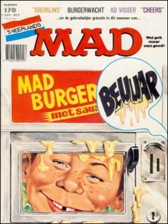 Go to MAD Magazine #170 • Netherlands • 1st Edition