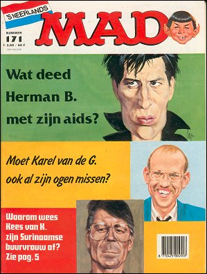 MAD Magazine #171 • Netherlands • 1st Edition
