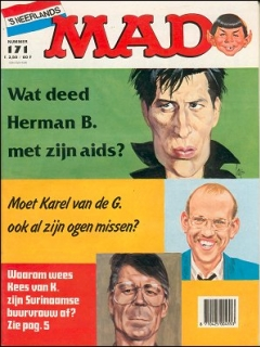 Go to MAD Magazine #171 • Netherlands • 1st Edition