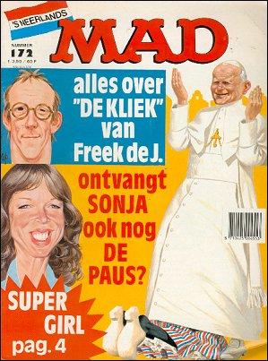 MAD Magazine #172 • Netherlands • 1st Edition