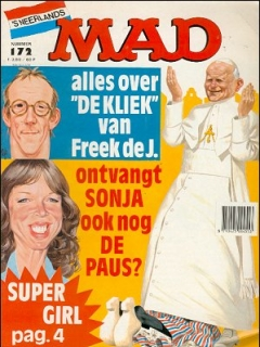 Go to MAD Magazine #172 • Netherlands • 1st Edition