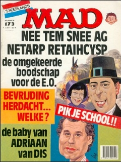 Go to MAD Magazine #173 • Netherlands • 1st Edition