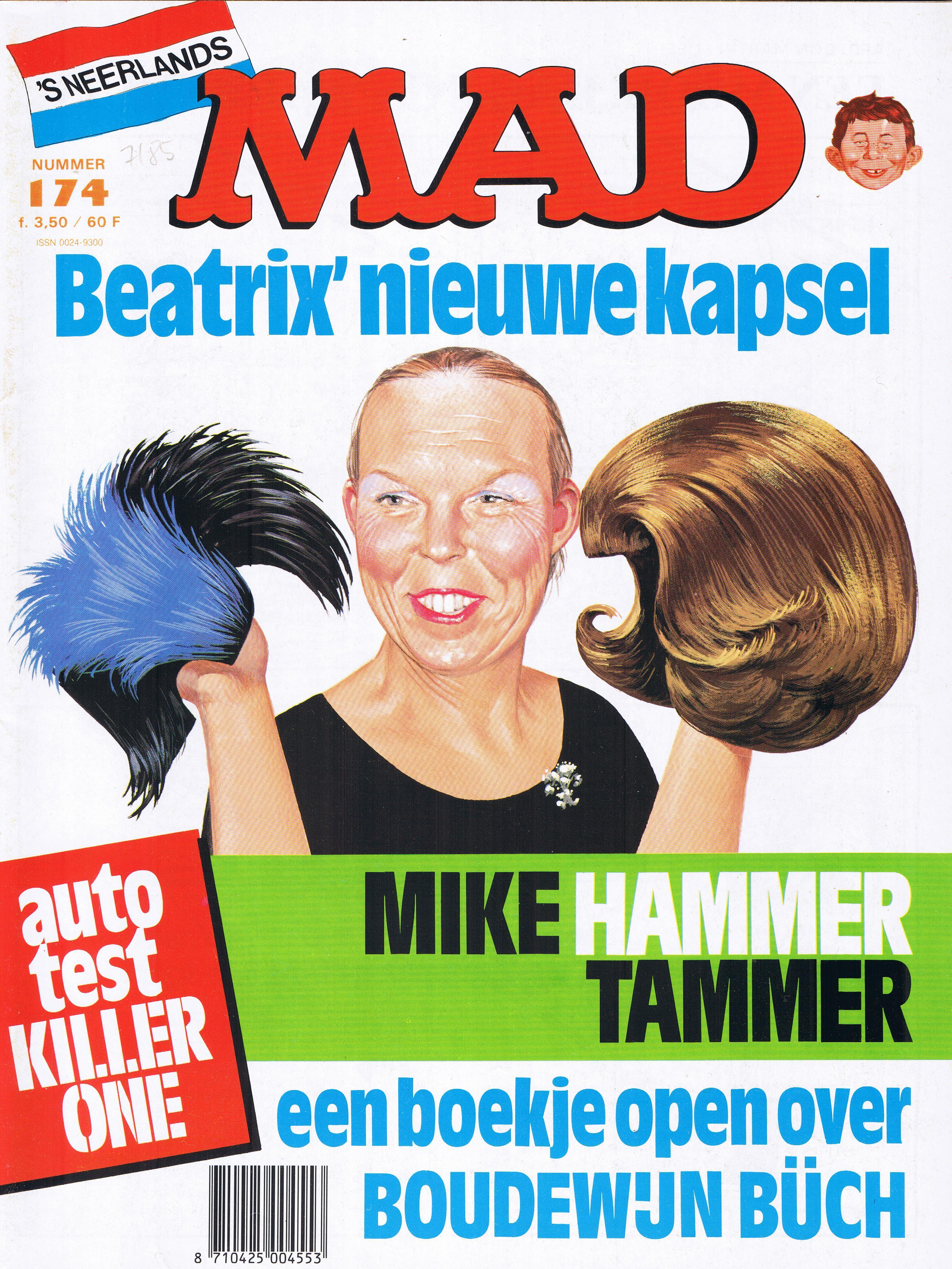 MAD Magazine #174 • Netherlands • 1st Edition