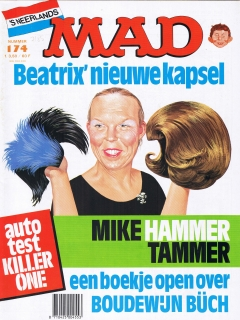Go to MAD Magazine #174 • Netherlands • 1st Edition