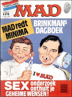 MAD Magazine #175 • Netherlands • 1st Edition