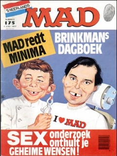 Go to MAD Magazine #175 • Netherlands • 1st Edition