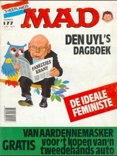 Go to MAD Magazine #177 • Netherlands • 1st Edition