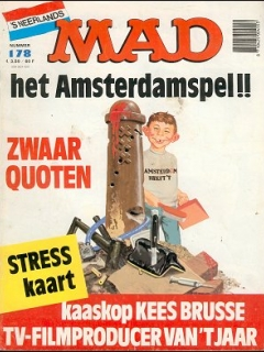 Go to MAD Magazine #178 • Netherlands • 1st Edition
