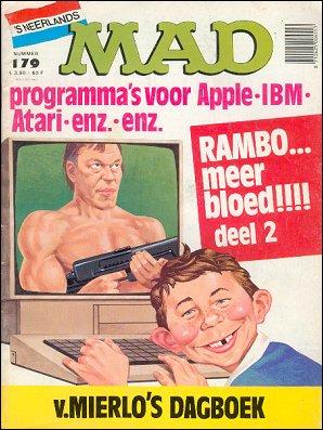 MAD Magazine #179 • Netherlands • 1st Edition