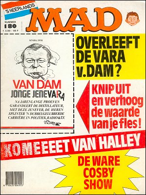 MAD Magazine #180 • Netherlands • 1st Edition