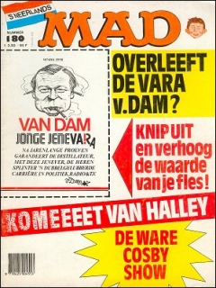 Go to MAD Magazine #180 • Netherlands • 1st Edition