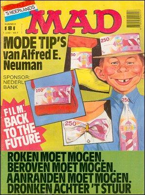 MAD Magazine #181 • Netherlands • 1st Edition