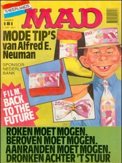 Go to MAD Magazine #181 • Netherlands • 1st Edition