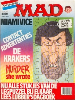 Go to MAD Magazine #182 • Netherlands • 1st Edition