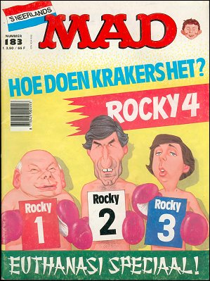MAD Magazine #183 • Netherlands • 1st Edition