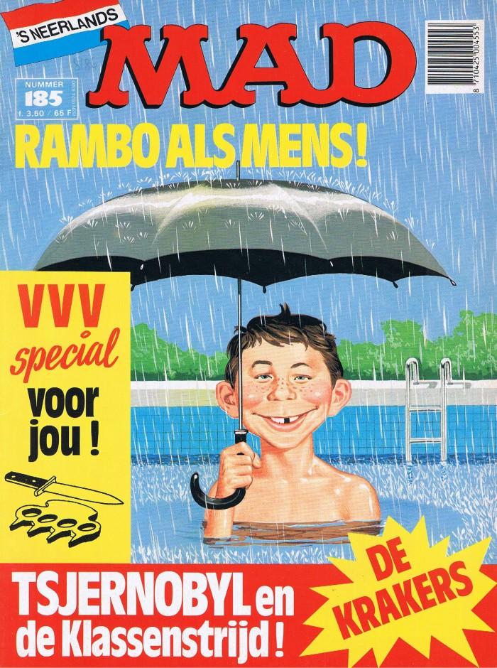 MAD Magazine #185 • Netherlands • 1st Edition