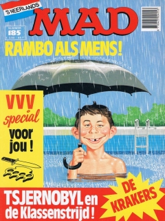 Go to MAD Magazine #185 • Netherlands • 1st Edition