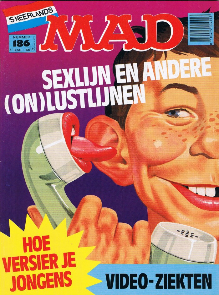 MAD Magazine #186 • Netherlands • 1st Edition