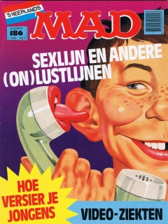 Go to MAD Magazine #186 • Netherlands • 1st Edition
