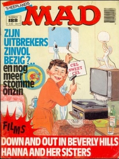 Go to MAD Magazine #188 • Netherlands • 1st Edition