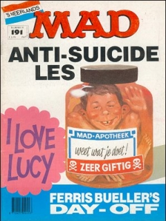 Go to MAD Magazine #191 • Netherlands • 1st Edition