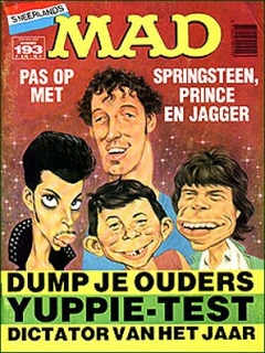 Go to MAD Magazine #193 • Netherlands • 1st Edition