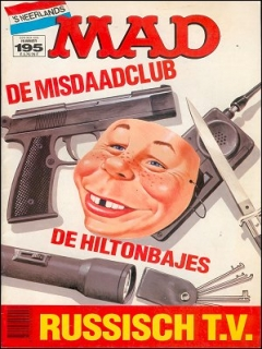 Go to MAD Magazine #195 • Netherlands • 1st Edition
