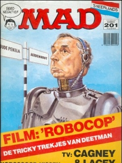 Go to MAD Magazine #201 • Netherlands • 1st Edition
