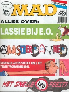 Go to MAD Magazine #202 • Netherlands • 1st Edition