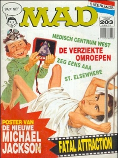 Go to MAD Magazine #203 • Netherlands • 1st Edition