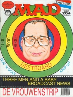 Go to MAD Magazine #204 • Netherlands • 1st Edition