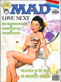Go to MAD Magazine #205 • Netherlands • 1st Edition
