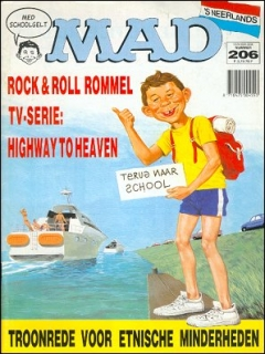 Go to MAD Magazine #206 • Netherlands • 1st Edition