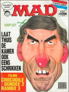 Go to MAD Magazine #208 • Netherlands • 1st Edition