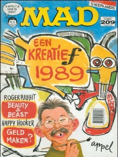 Go to MAD Magazine #209 • Netherlands • 1st Edition