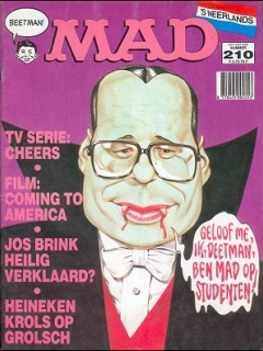 Go to MAD Magazine #210 • Netherlands • 1st Edition
