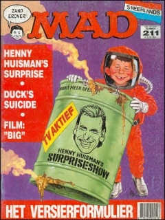 Go to MAD Magazine #211 • Netherlands • 1st Edition