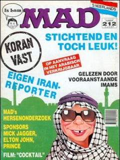 Go to MAD Magazine #212 • Netherlands • 1st Edition