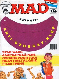 Go to MAD Magazine #214 • Netherlands • 1st Edition