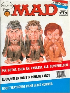 Go to MAD Magazine #215 • Netherlands • 1st Edition